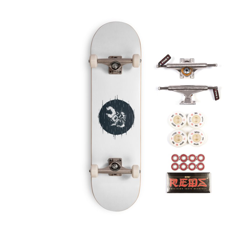Glitch Space Accessories Complete - Pro Skateboard by Steven Toang
