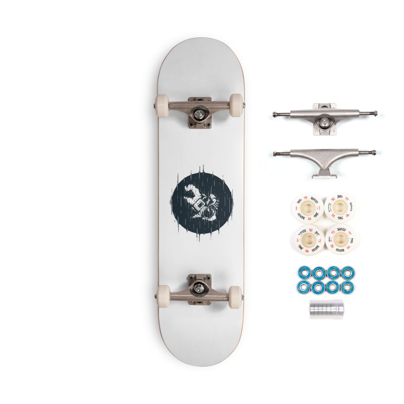 Glitch Space Accessories Complete - Premium Skateboard by Steven Toang