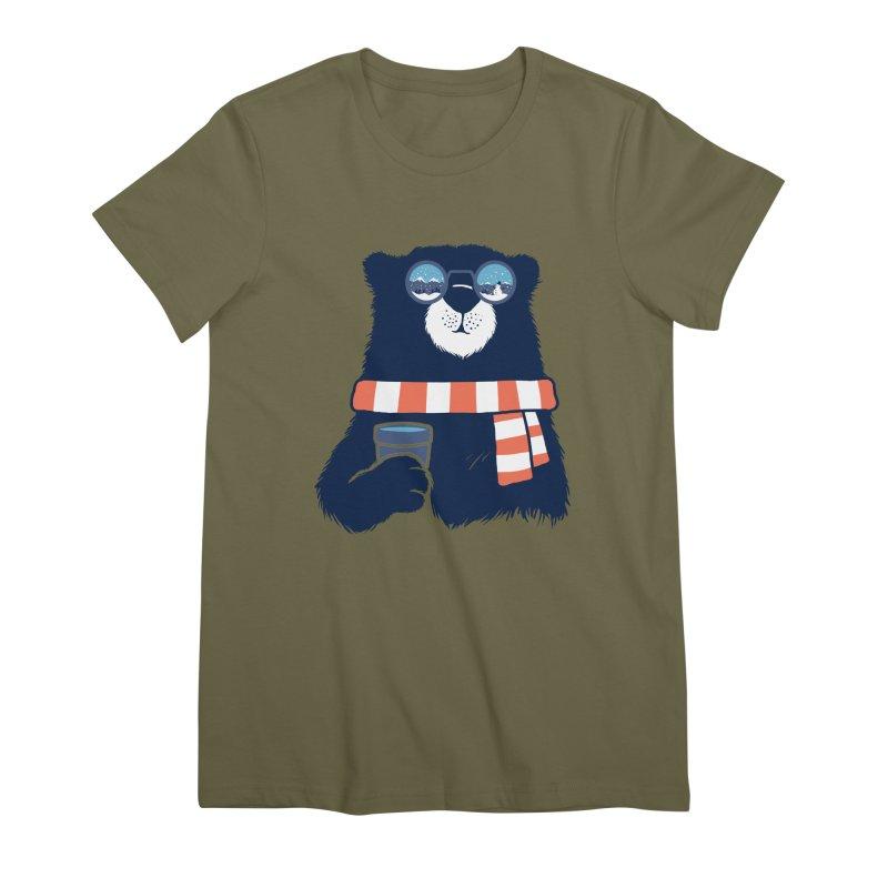 Winter Break Women's Premium T-Shirt by Steven Toang