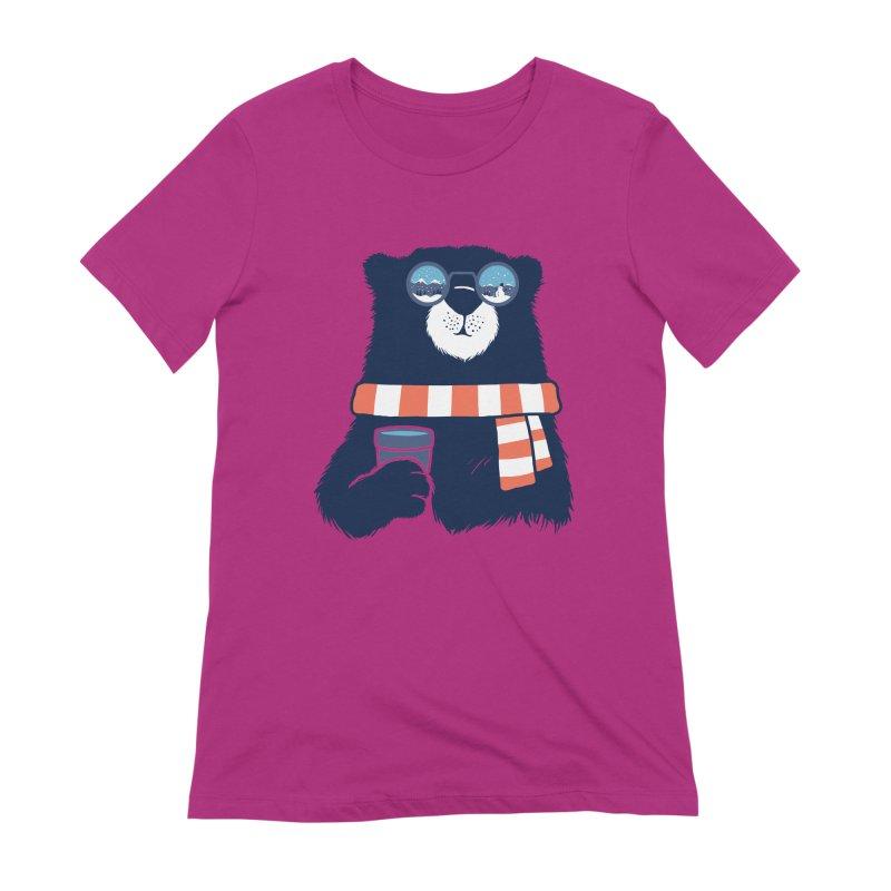 Winter Break Women's Extra Soft T-Shirt by Steven Toang