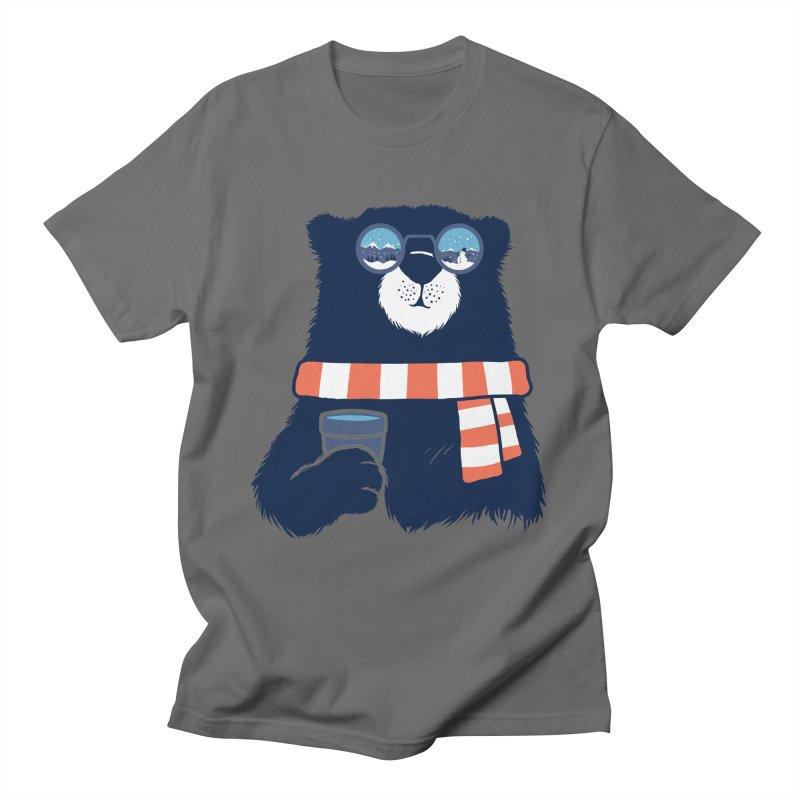 Winter Break Men's T-Shirt by Steven Toang