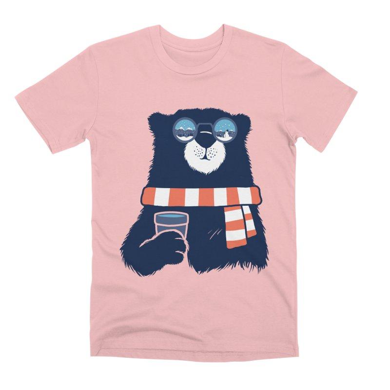 Winter Break Men's Premium T-Shirt by Steven Toang