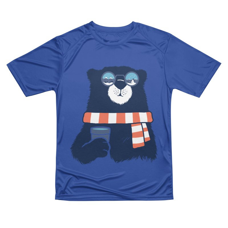 Winter Break Men's Performance T-Shirt by Steven Toang