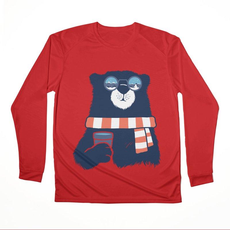 Winter Break Men's Performance Longsleeve T-Shirt by Steven Toang