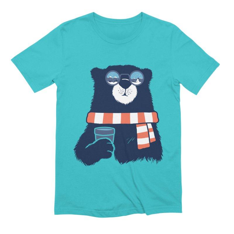 Winter Break Men's Extra Soft T-Shirt by Steven Toang
