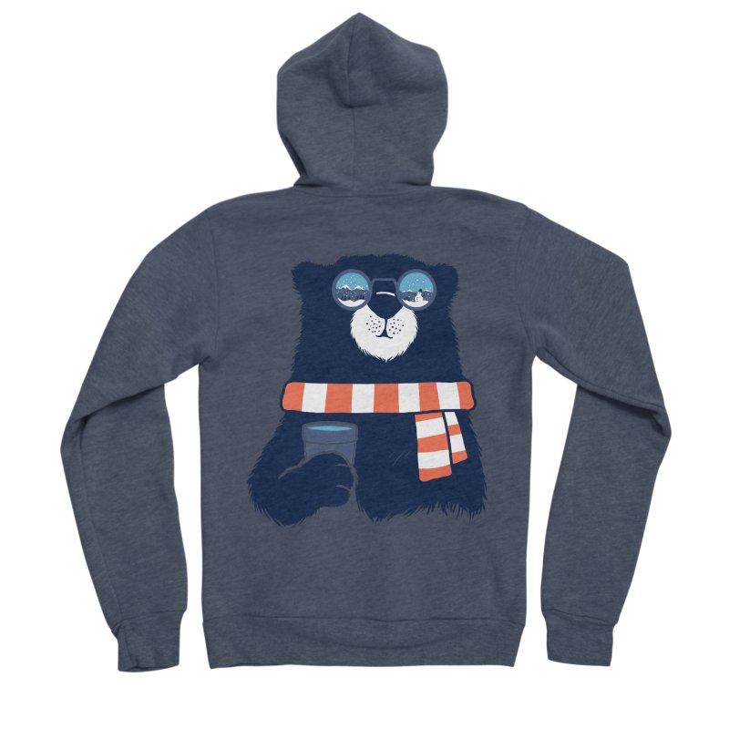 Winter Break Men's Sponge Fleece Zip-Up Hoody by Steven Toang