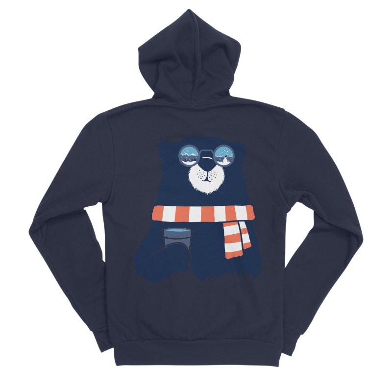 Winter Break Women's Sponge Fleece Zip-Up Hoody by Steven Toang