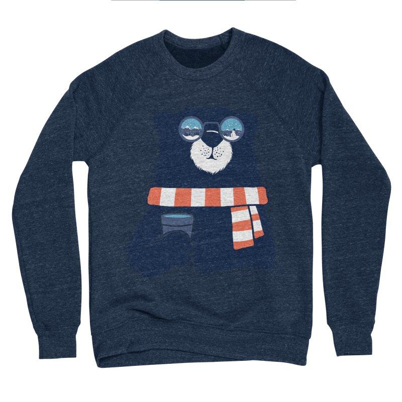 Winter Break Men's Sponge Fleece Sweatshirt by Steven Toang