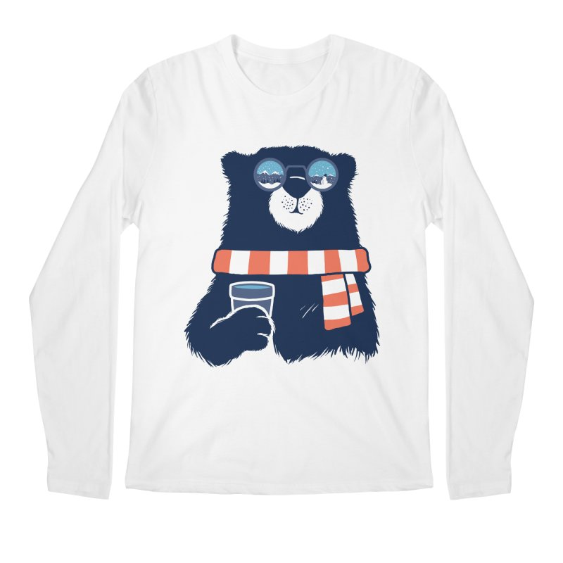 Winter Break Men's Regular Longsleeve T-Shirt by Steven Toang