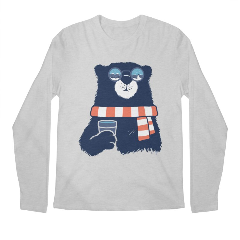 Winter Break Men's Regular Longsleeve T-Shirt by Steven Toang