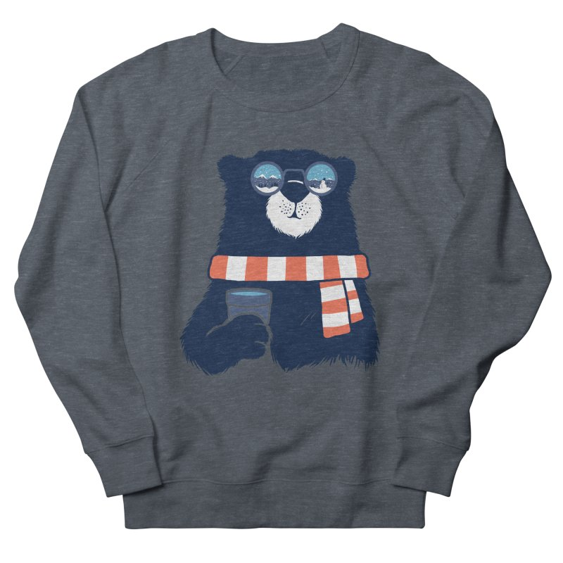Winter Break Men's French Terry Sweatshirt by Steven Toang