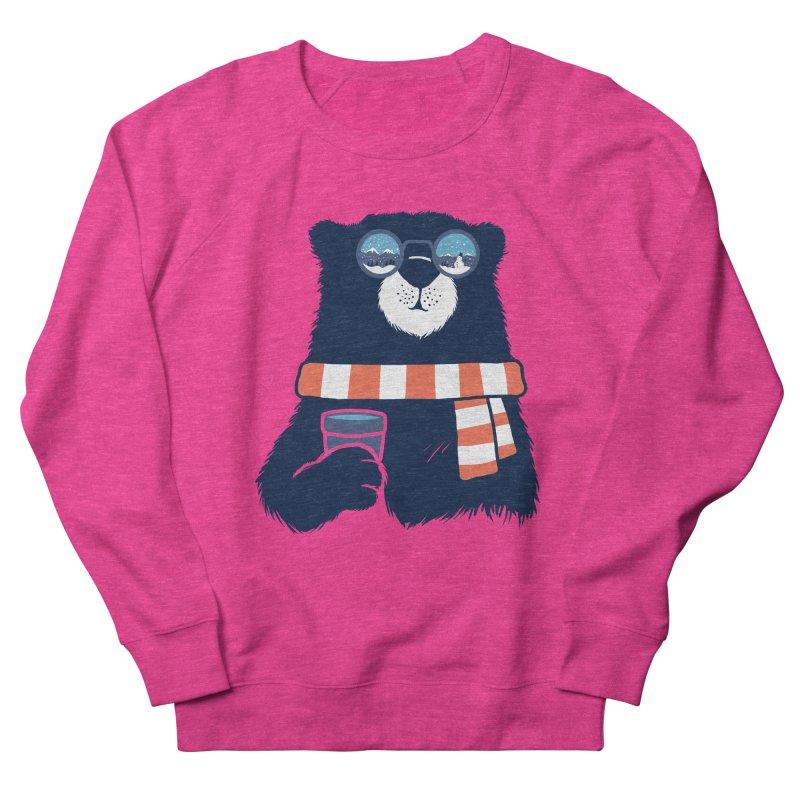 Winter Break Men's French Terry Sweatshirt by Steven Toang