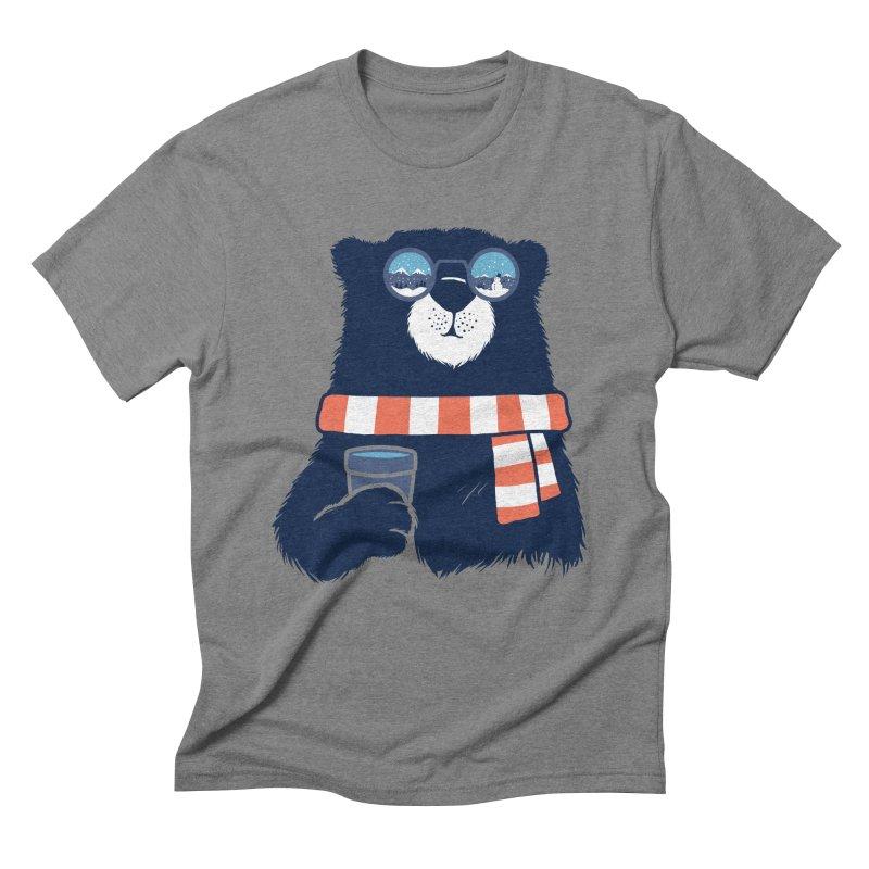 Winter Break Men's Triblend T-Shirt by Steven Toang