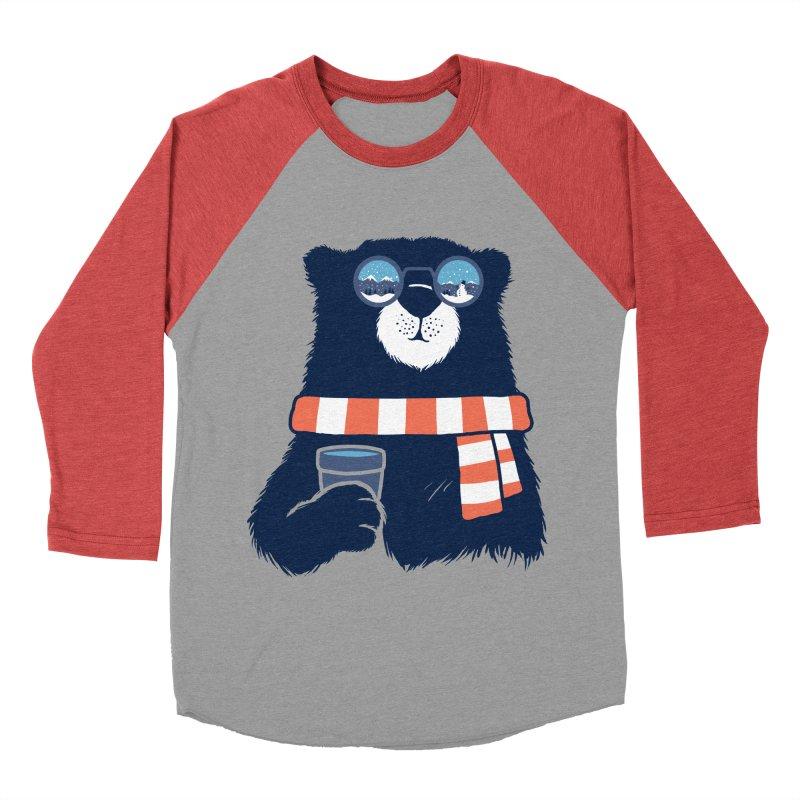 Winter Break Women's Baseball Triblend Longsleeve T-Shirt by Steven Toang