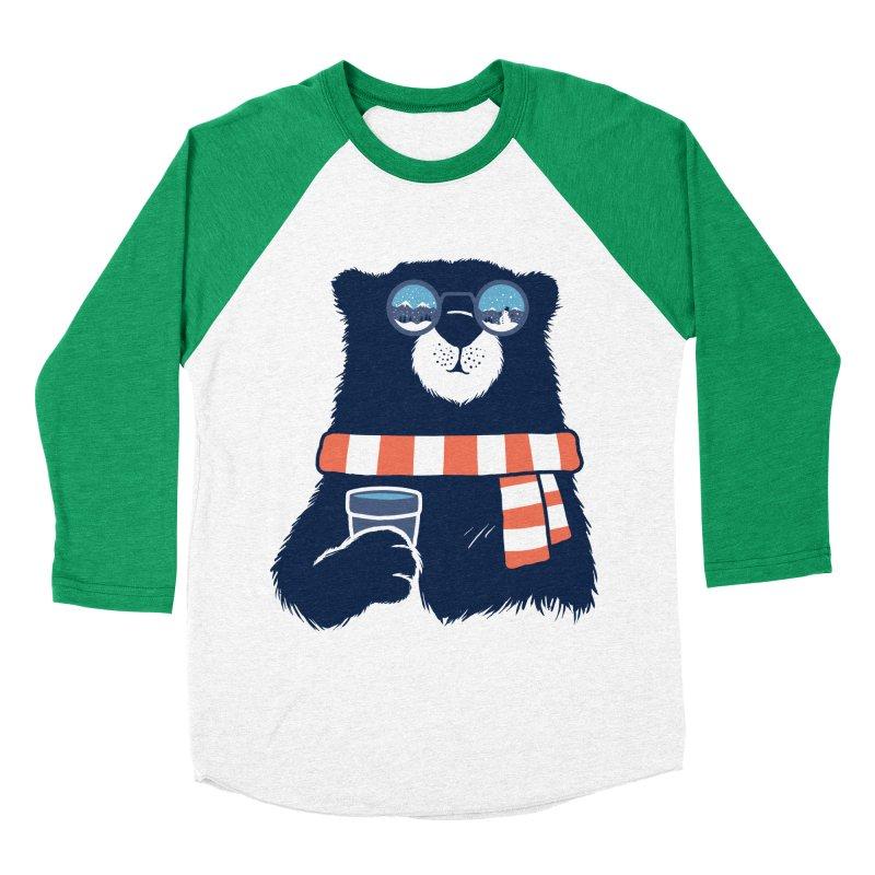 Winter Break Men's Baseball Triblend Longsleeve T-Shirt by Steven Toang
