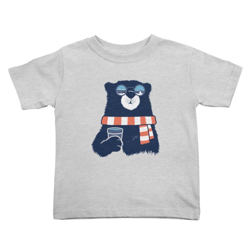 Winter Break Kids Toddler T-Shirt by Steven Toang