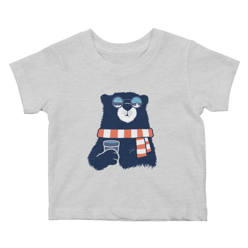 Winter Break Kids Baby T-Shirt by Steven Toang
