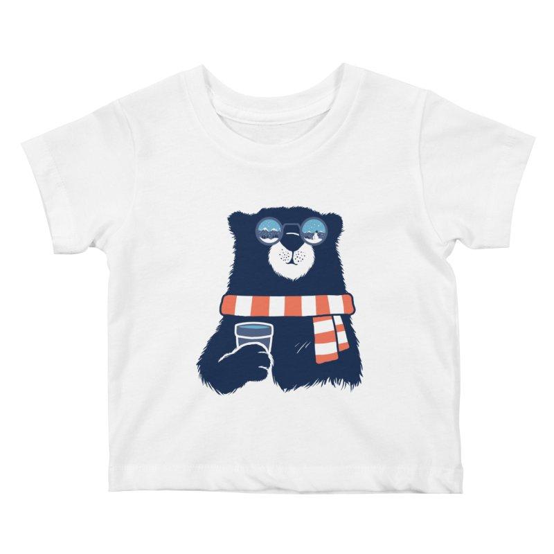 Winter Break Kids Baby T-Shirt by Steven Toang