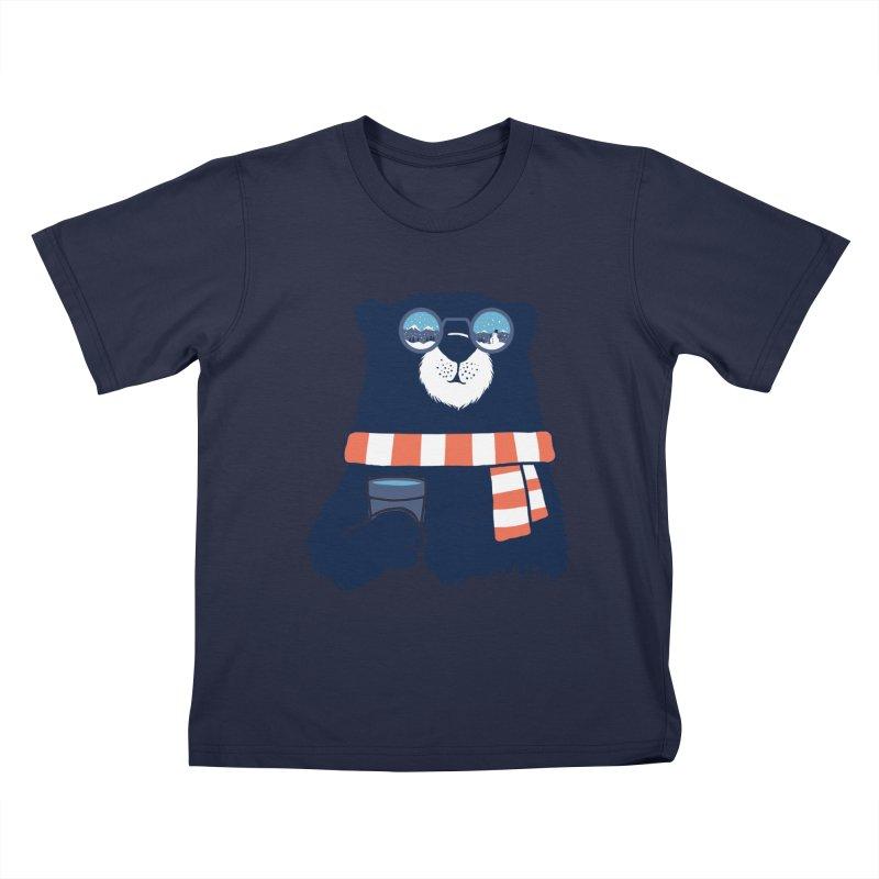 Winter Break Kids T-Shirt by Steven Toang