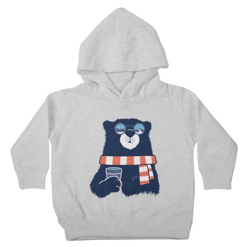 Winter Break Kids Toddler Pullover Hoody by Steven Toang