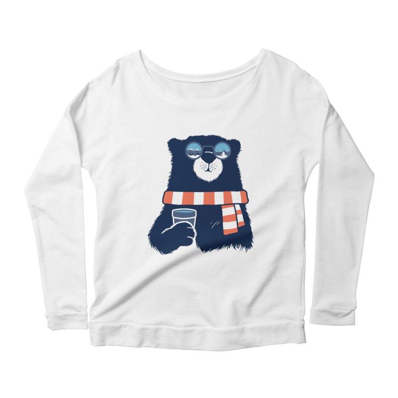 Winter Break Women's Scoop Neck Longsleeve T-Shirt by Steven Toang