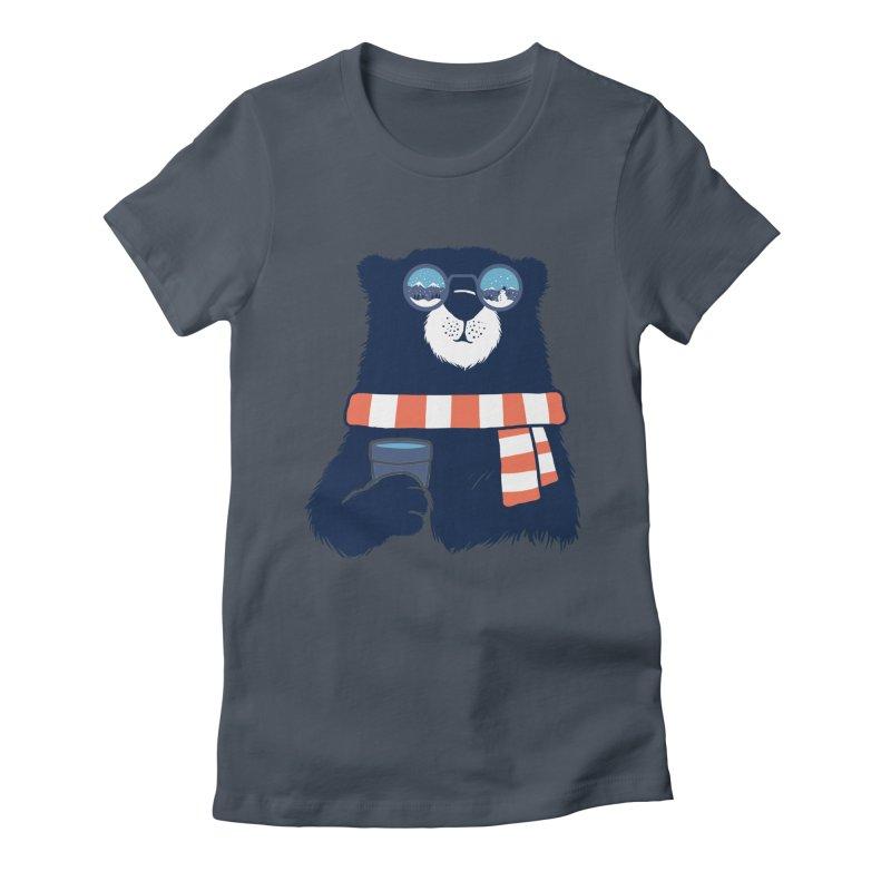 Winter Break Women's T-Shirt by Steven Toang