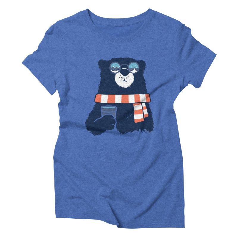 Winter Break Women's Triblend T-Shirt by Steven Toang