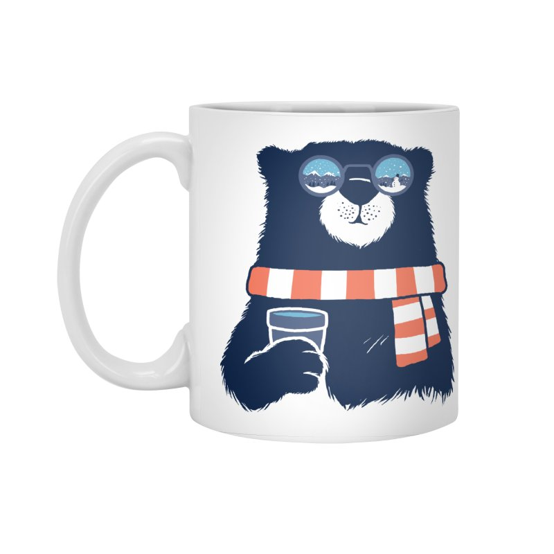 Winter Break Accessories Standard Mug by Steven Toang