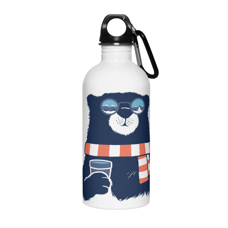 Winter Break Accessories Water Bottle by Steven Toang