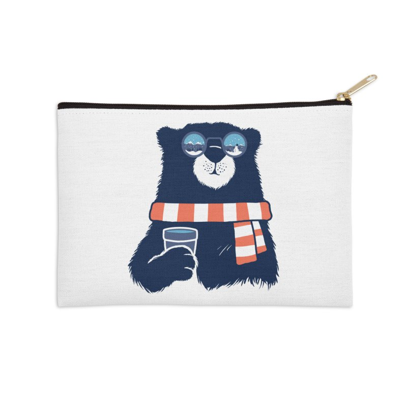 Winter Break Accessories Zip Pouch by Steven Toang