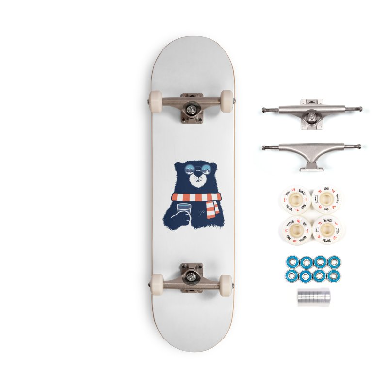 Winter Break Accessories Complete - Premium Skateboard by Steven Toang