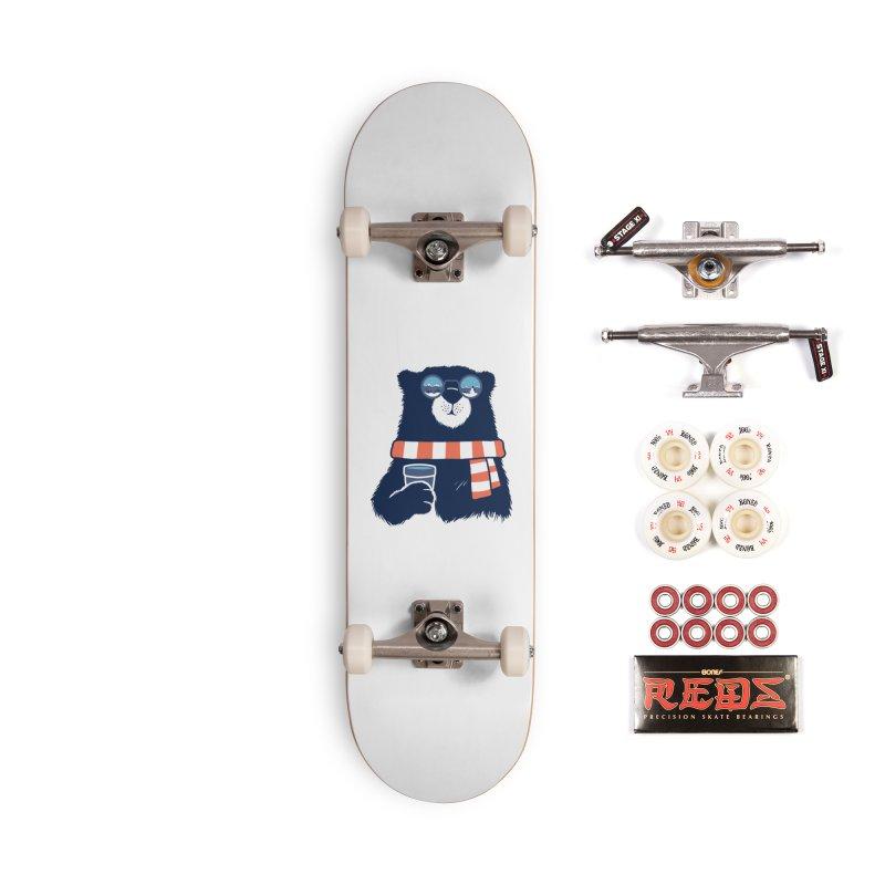 Winter Break Accessories Complete - Pro Skateboard by Steven Toang