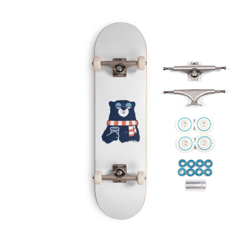 Winter Break Accessories Complete - Basic Skateboard by Steven Toang