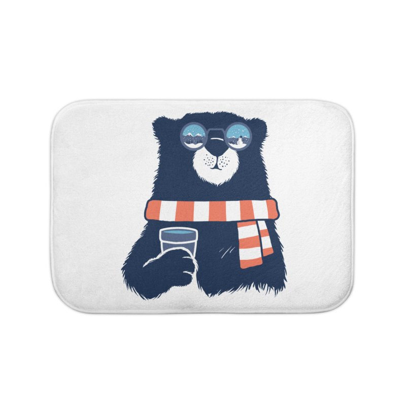 Winter Break Home Bath Mat by Steven Toang