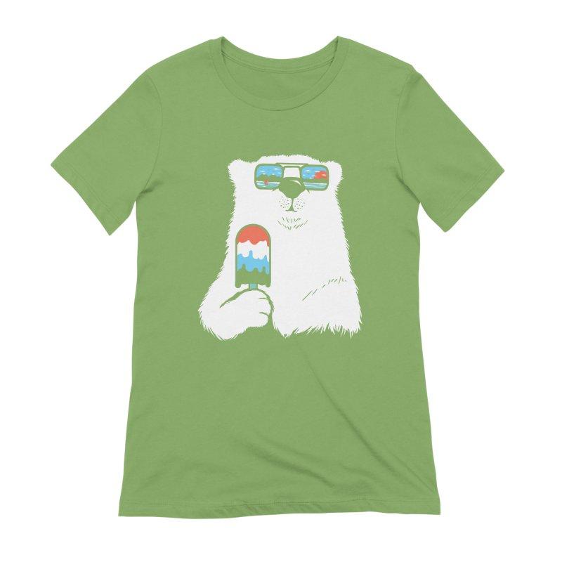 Summer Break Women's Extra Soft T-Shirt by Steven Toang