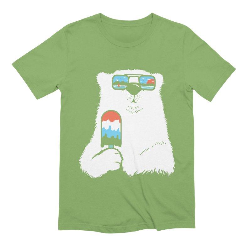 Summer Break Men's Extra Soft T-Shirt by Steven Toang
