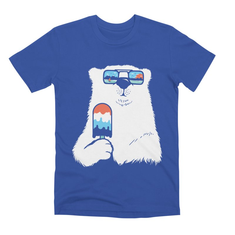 Summer Break Men's Premium T-Shirt by Steven Toang