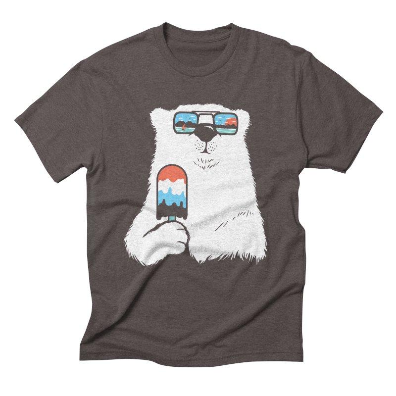 Summer Break Men's Triblend T-Shirt by Steven Toang