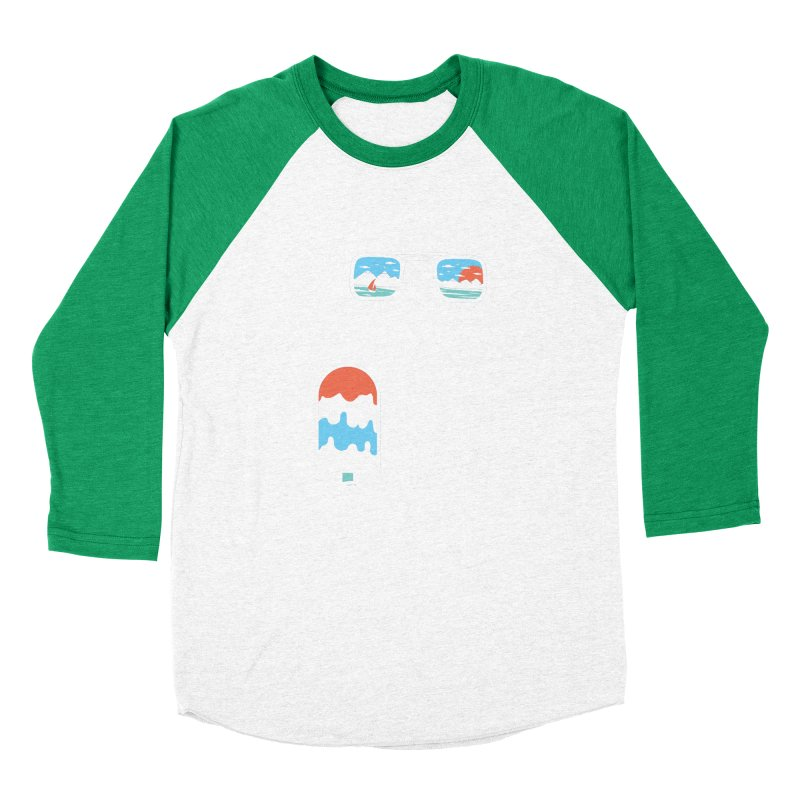 Summer Break Women's Baseball Triblend Longsleeve T-Shirt by Steven Toang