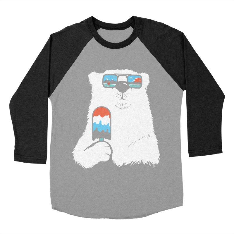 Summer Break Men's Baseball Triblend Longsleeve T-Shirt by Steven Toang