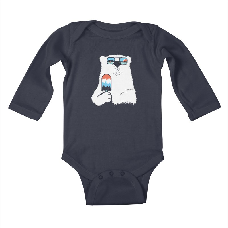 Summer Break Kids Baby Longsleeve Bodysuit by Steven Toang