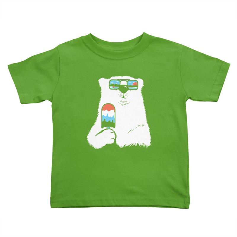 Summer Break Kids Toddler T-Shirt by Steven Toang
