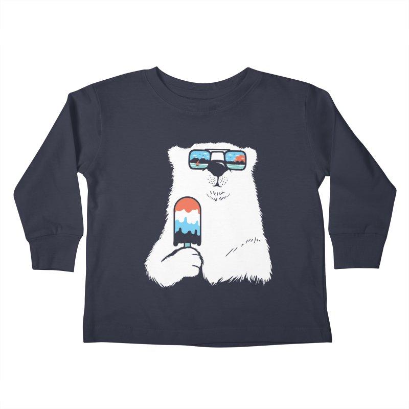 Summer Break Kids Toddler Longsleeve T-Shirt by Steven Toang