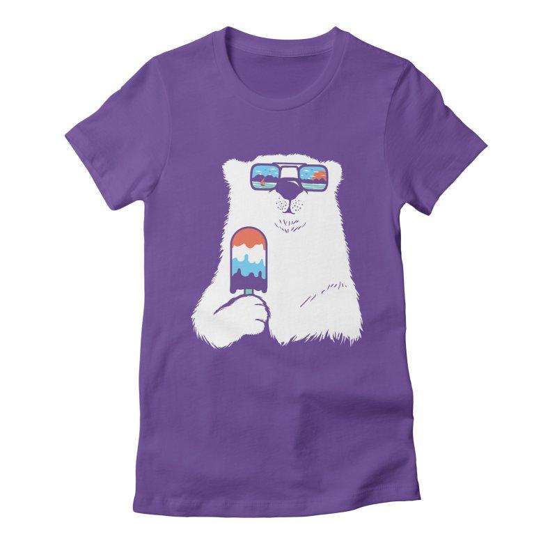 Summer Break Women's Fitted T-Shirt by Steven Toang