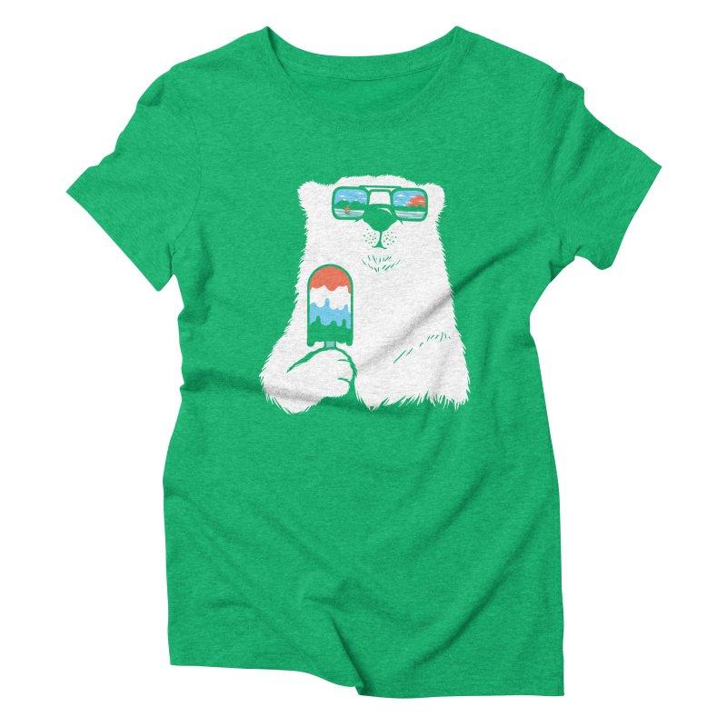 Summer Break Women's Triblend T-Shirt by Steven Toang