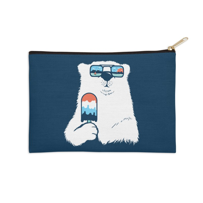 Summer Break Accessories Zip Pouch by Steven Toang