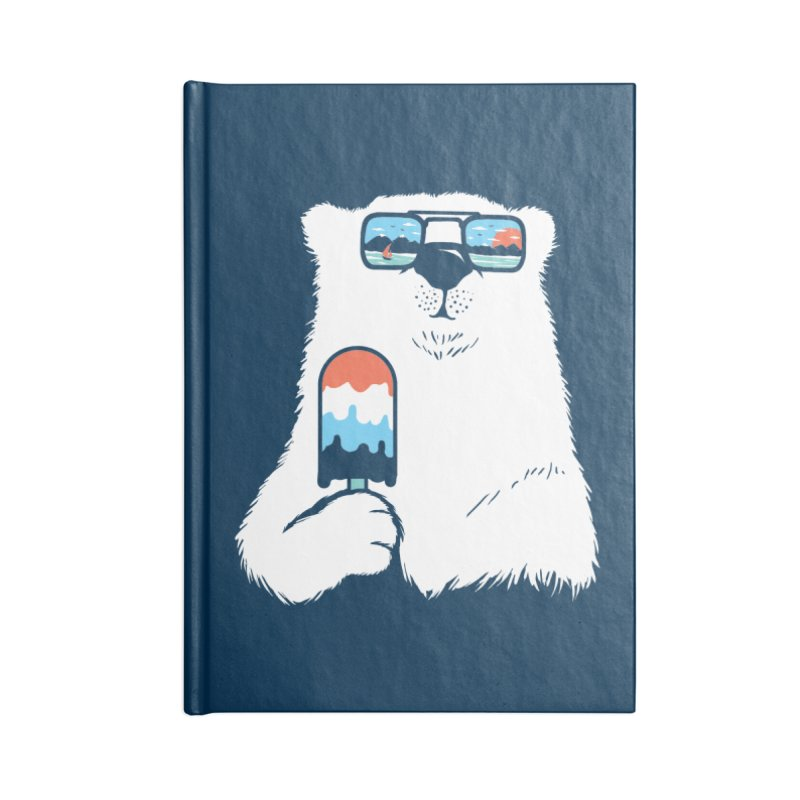 Summer Break Accessories Lined Journal Notebook by Steven Toang