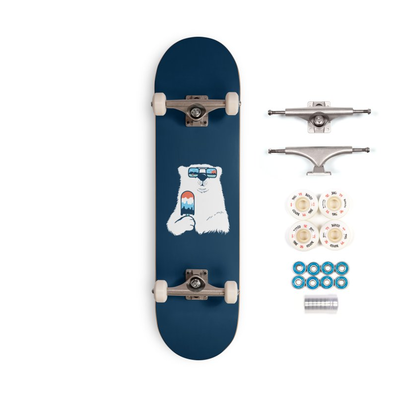 Summer Break Accessories Complete - Premium Skateboard by Steven Toang