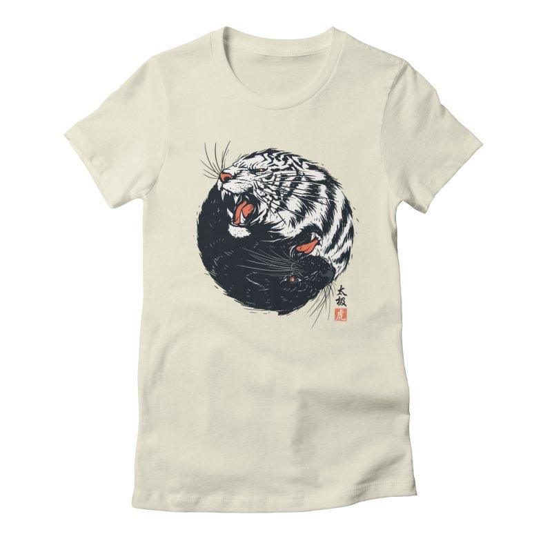 Tachi Tiger Women's T-Shirt by Steven Toang
