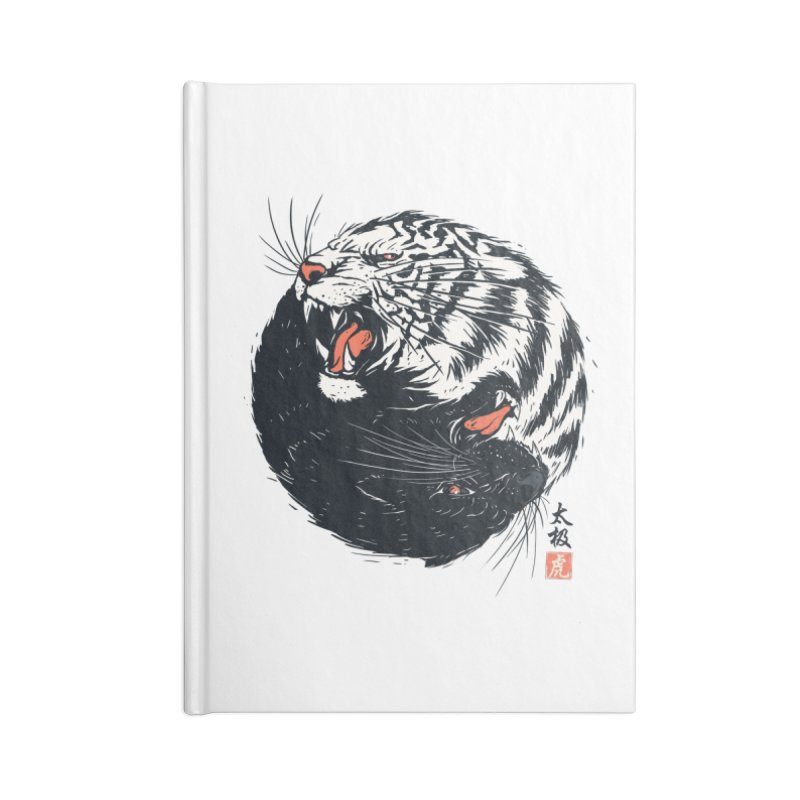 Tachi Tiger Accessories Notebook by Steven Toang